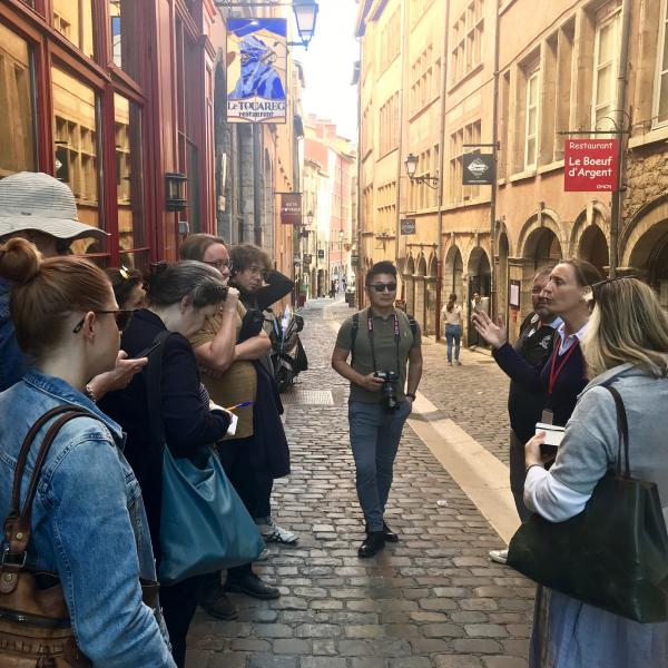 """Voyage de presse """"Smart Tourism"""" à Lyon du 11 au 13 septembre 2019 © S. Delyons"""