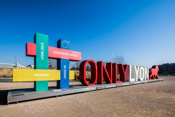 Sculpture « Capitale européenne du Smart Tourism »