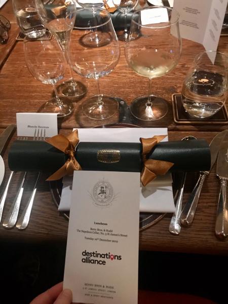 Diner Destinations Alliance à Londres
