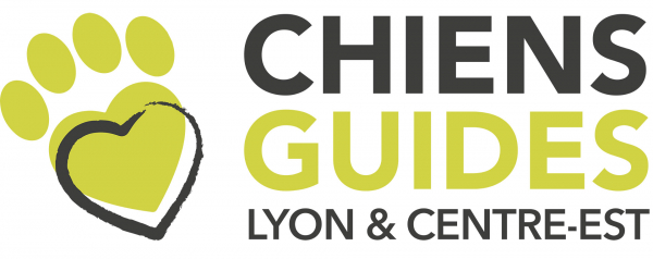 Logo des Chiens Guides de Lyon Centre Est