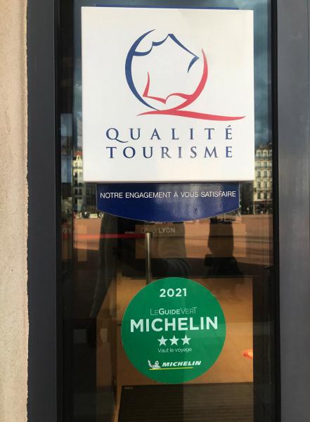Lyon: 3 étoiles Guide vert Michelin 2021