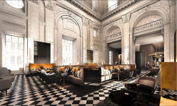 Bar de l'Hôtel InterContinental Hôtel-Dieu  © Eric Cuvillier