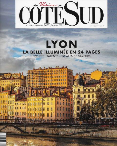 Lyon - La belle illuminée en 24 pages - Côté Sud, décembre 2020 - janvier 2021