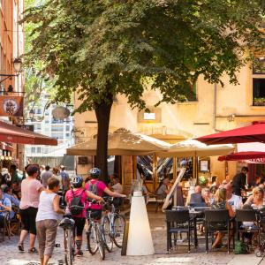 Le Vieux-Lyon cet été © Delphine2Lyon