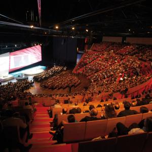 Congrès dans l'amphithéâtre du Centre de Congrès ©