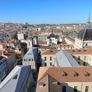 Grand Hôtel-Dieu, vue aérienne © Vincent Ramet