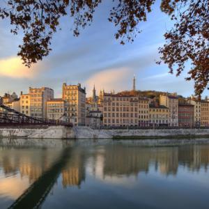 Le Vieux- Lyon et la Passerelle Saint-Vincent - Tristan Deschamps