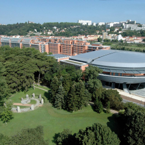 Cité Internationale de Lyon © UMR CNRS ENSAL OT