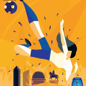 Affiche de la Coupe du Monde Féminine de la FIFA, France 2019