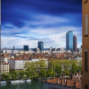 Lyon vue de la Croix-Rousse © Gaël Fontaine