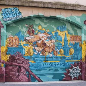 Street art à Lyon © LV