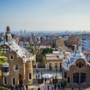 Barcelone vue du Parc Guell  © Pixabay / Maria Michelle
