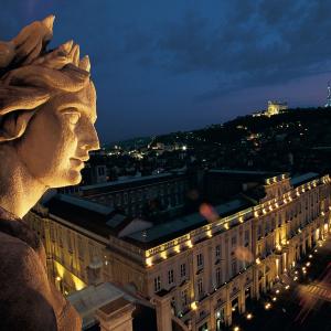 Muse de l'Opéra et vue sur place des Terreaux © Tristan Deschamps
