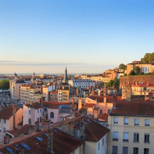 Vue sur Lyon de la Croix-Rousse © Sander van der Werf / Shutterstock