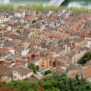 Les toits du Vieux-Lyon © Jean-Charles Garrivet