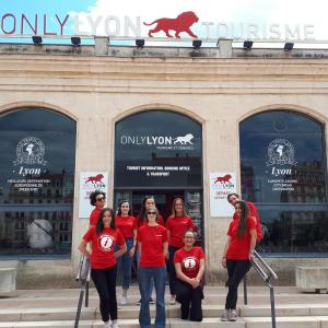 Equie des Lyon city Helpers 2019 © ONLYLYON Tourisme et Congrès