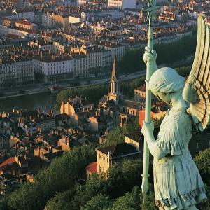 Vue sur Lyon de Fourvière © Tristan Deschamps